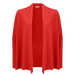 NWT American Vintage Janyway Open Cardigan Red